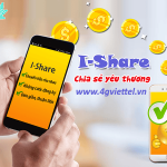 Cách chuyển tiền Viettel qua I-Share đơn giản nhanh chóng