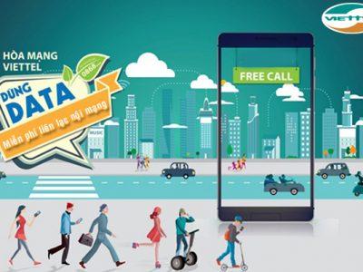ước 3G Viettel khuyến mãi tin nhắn và thoại nội mạng