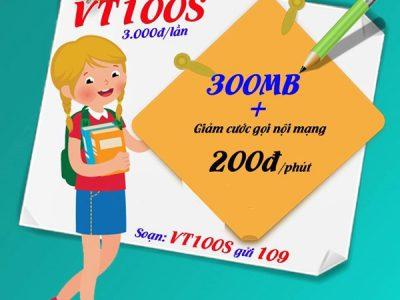 gói cước VT100S Viettel