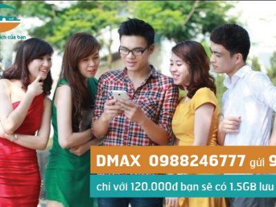 Đăng ký gói cước DMAX Viettel sử dụng 3G trọn gói