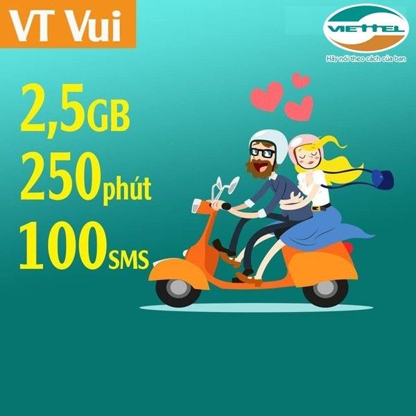 Đăng ký gói cước VTVUI Viettel ưu đãi khủng