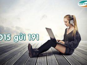 Gói cước D15 Viettel truy cập Internet cả ngày với 15.000đ