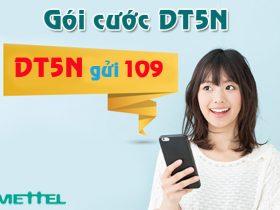Gói cước DT5N Viettel đổi 5.000đ lấy 50.000đ truy cập data