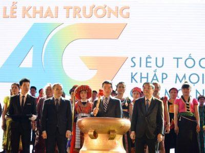 Viettel khai truong phu song mang 4G Viettel tren toan quoc ngay 18-4-2017