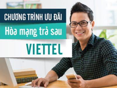 Viettel khuyến mãi 4/2017 cho thuê bao hòa mạng trả sau