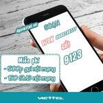 Đăng ký gói T70K Viettel miễn phí 500 phút gọi và 150SMS nội mạng