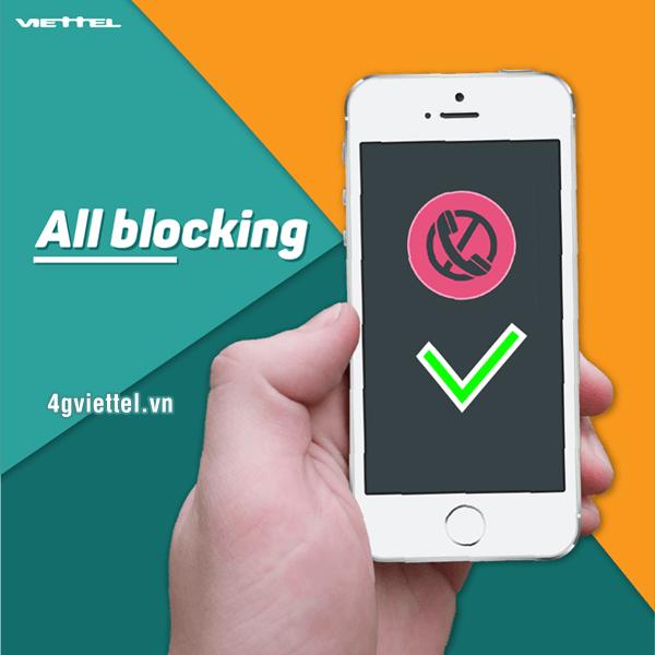 Dịch vụ AllBlocking Viettel - Chặn tin nhắn và cuộc gọi Viettel