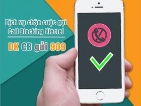Đăng ký dịch vụ chặn cuộc gọi Viettel - CallBlocking Viettel