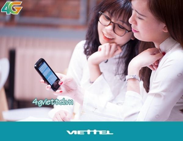 Cách đăng ký 4G sinh viên Viettel nhận ưu đãi data khủng