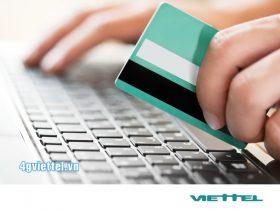 Cách thanh toán trực tuyến Viettel Payment