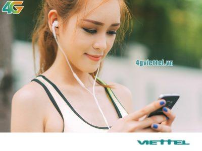 Gói cước 4GYT7 của Viettel miễn phí 9GB data xem Youtube