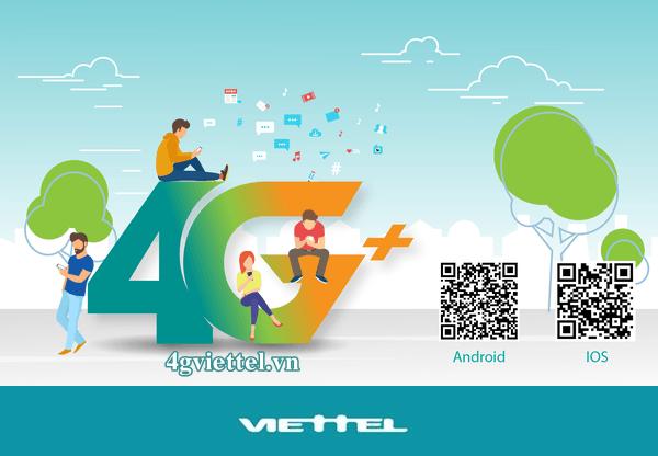 Ứng dụng 4G Plus của Viettel miễn phí data đọc báo