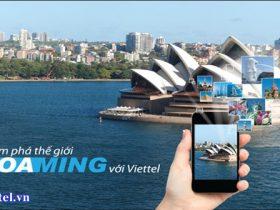 Cách đăng ký dịch vụ Data Roaming Viettel