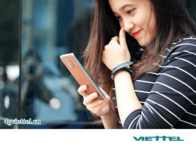 Đăng ký gói cước 4GFB7 của Viettel chỉ 15.000đ