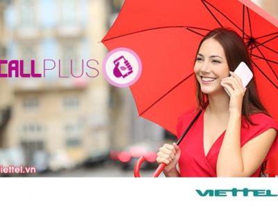 Dịch vụ gọi không giới hạn Viettel miễn phí cước đăng ký/ cước duy trì