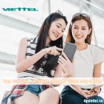 Miễn phí tặng 15GB data 4G Viettel dùng trong 90 ngày