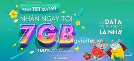 Đăng ký gói TET Viettel nhận 7GB data Tết Canh Tý lướt thả ga không hết tiền