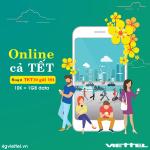 Đăng ký 4G gói TET10 Viettel chỉ 10.000đ/ngày