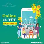 Đăng ký gói cước TET100 Viettel chỉ 100.000đ/lần