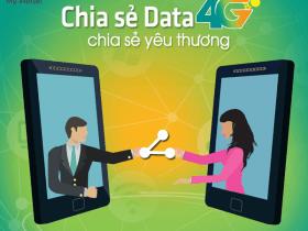 Chia sẻ dung lượng data 4G Viettel cho thuê bao Viettel khác