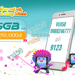 Đăng ký gói cước VUI50 Viettel ưu đãi 5GB data dùng trong 7 ngày