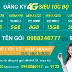 Cách đăng ký 4G Viettel cho thuê bao di động