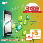 Đăng ký 3G gói MIMAX70 Viettel trọn gói data