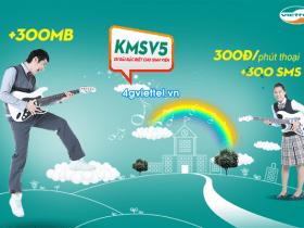 Đăng ký gói cước KMSV5 Viettel