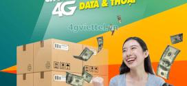 Đăng ký gói cước 3F90 Viettel ưu đãi khủng data + gọi + SMS dùng trong 3 tháng