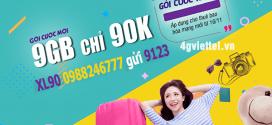 Đăng ký gói cước XL90 Viettel nhận ngay 9GB data chỉ 90.000đ/tháng