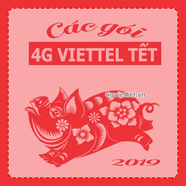 Gọi ý 5 gói cước 4G Viettel thả ga lướt web Tết Nguyên Đán 2019