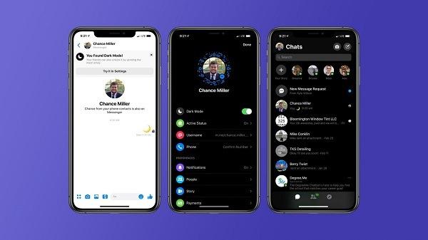 Cách bật Chế độ nền tối Messenger đơn giản cho người dùng di động