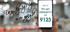MÁCH BẠN –  Gói cước 3G/4G Viettel đăng ký cho lễ 30/4 và 1/5/2019