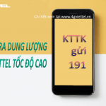 Cách kiểm tra dung lượng 3G Viettel còn lại bằng tin nhắn
