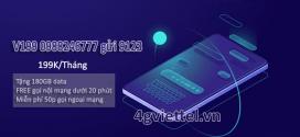 Đăng ký gói cước V199 Viettel nhận 6GB/ngày và miễn phí gọi thoại
