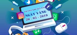 Viettel khuyến mãi 20/5/2019 ưu đãi ngày vàng toàn quốc