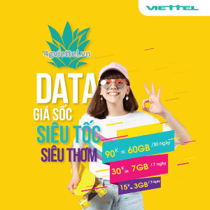 Cách đăng ký gói Siêu Tốc Viettel data siêu tốc thả ga kết nối