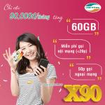 Đăng ký gói cước X90 Viettel gói khuyến mãi siêu hấp dẫn giá chỉ 90.000đ