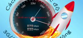 Hướng dẫn cách kiểm tra tốc độ mạng 3G/4G Viettel trên di động