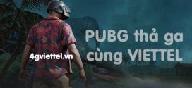Điểm danh các gói chơi PUBG Mobile Viettel thả ga giá siêu rẻ