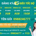 Cách đăng ký gói cước 4G Viettel trọn gói giá rẻ cho thuê bao di động