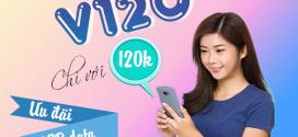 Đăng ký gói V120 Viettel tặng 60GB data gọi nội/ ngoại mạng thả ga