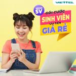 Cách đăng ký gói cước 5G Viettel sinh viên giá rẻ chì 50k có ngay 3GB