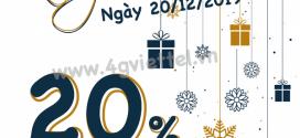 Viettel khuyến mãi 20/12/2019 ưu đãi NGÀY VÀNG toàn quốc tặng 20%