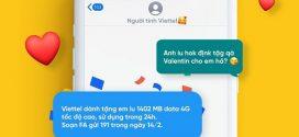 Đăng ký gói FA Viettel nhận 1402MB data miễn phí chào mừng Valentine
