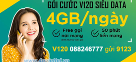 Đăng ký gói V120 Viettel tặng 120GB data và gọi nội/ ngoại mạng thả ga
