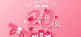 Khuyến mãi Viettel 14/2/2020 ưu đãi 20% thẻ nạp NGÀY VÀNG toàn quốc