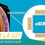 eSim là gì? Những lợi ích khi sử dụng eSim