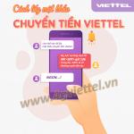 Cách lấy mật khẩu chuyển tiền Viettel bằng tin nhắn đơn giản nhất