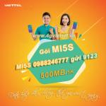 Cách đăng ký gói MI5S Viettel chỉ 5k có ngay 500MB dùng thả ga cả ngày